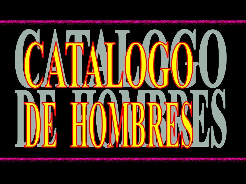 CATALOGO DE HOMBRES