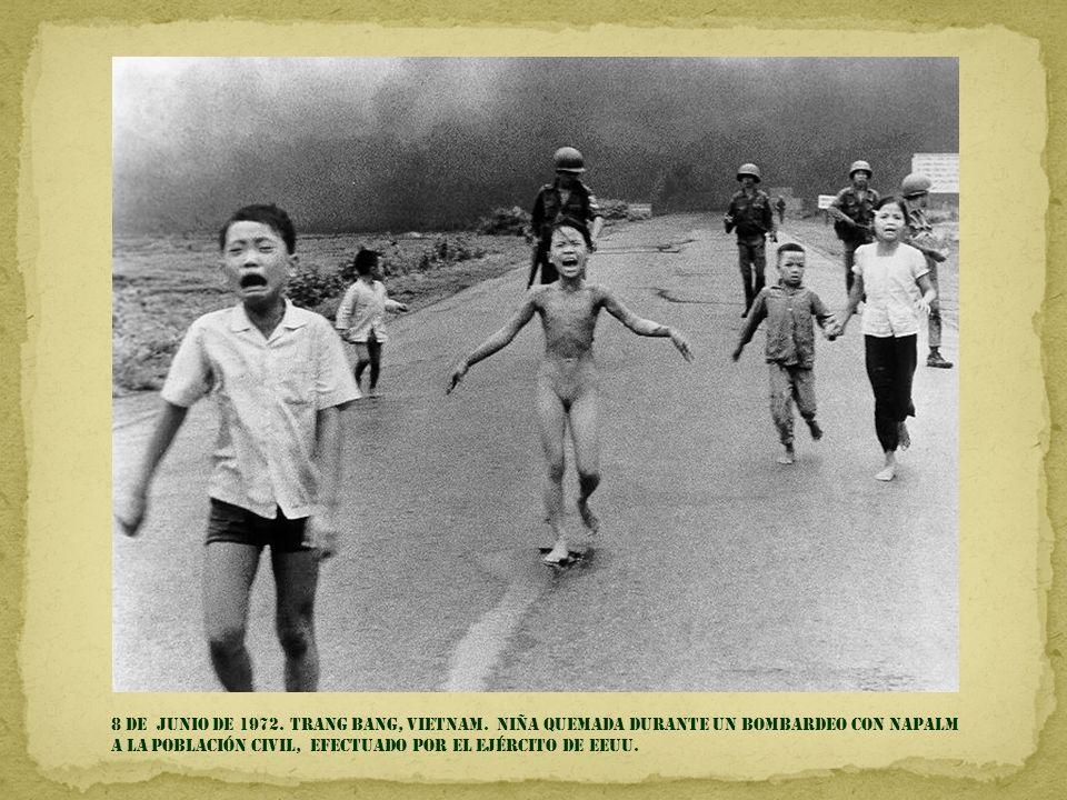 8 DE junio de 1972. trang bang, Vietnam