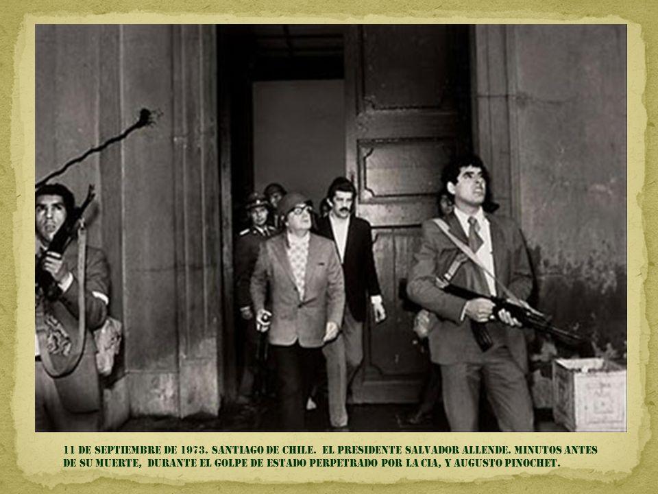 11 de septiembre DE 1973. SANTIAGO DE CHILE