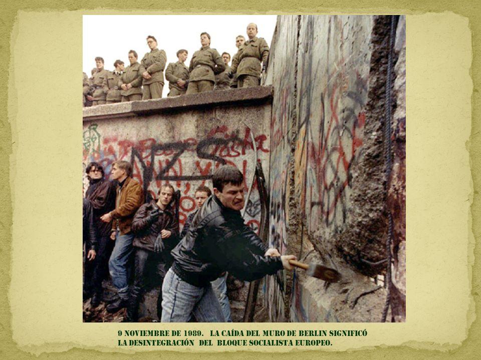 9 Noviembre de 1989.