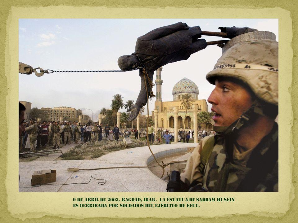 9 DE ABRIL DE 2003. BAGDAD, IRAK.