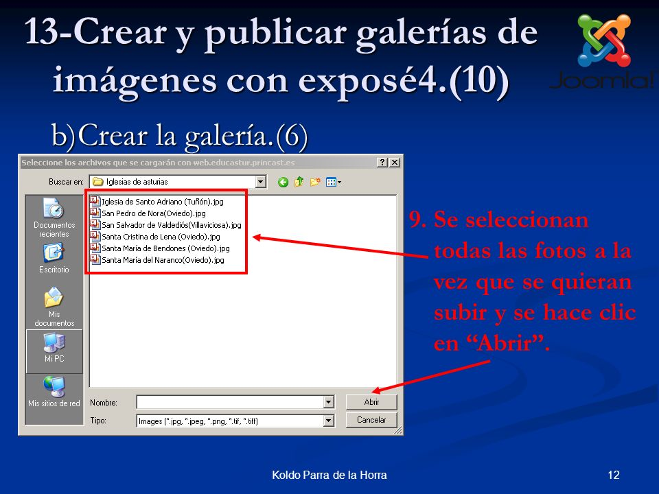 13-Crear y publicar galerías de imágenes con exposé4.(10)