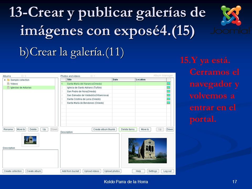 13-Crear y publicar galerías de imágenes con exposé4.(15)