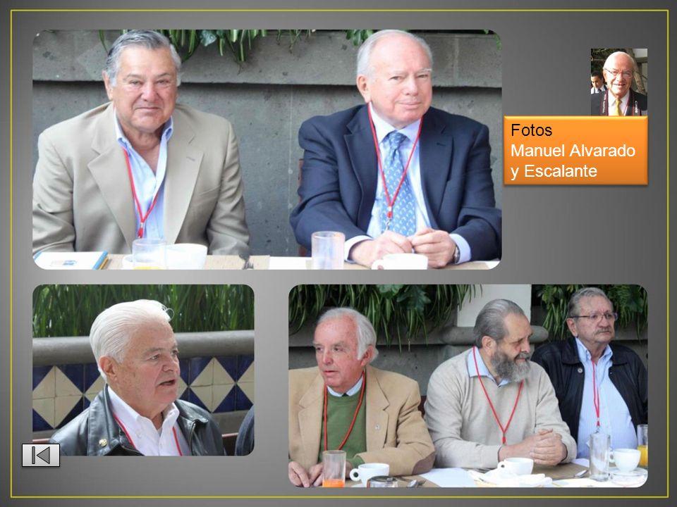 Fotos Manuel Alvarado y Escalante