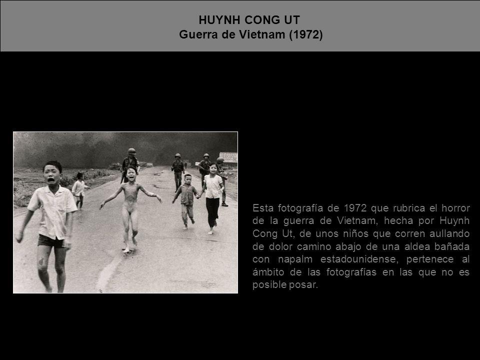 HUYNH CONG UT Guerra de Vietnam (1972)
