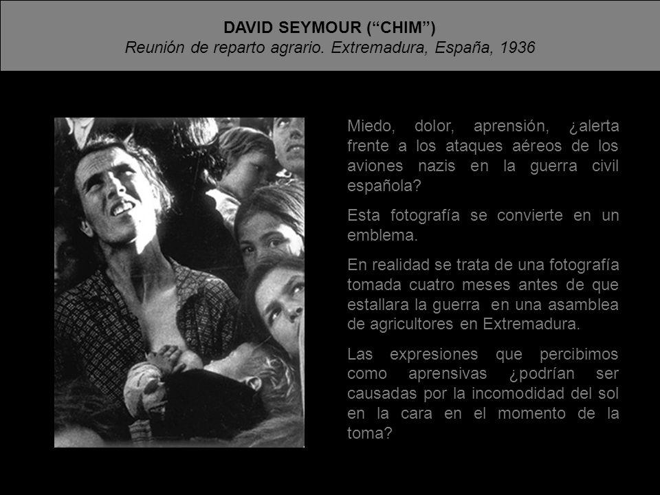 DAVID SEYMOUR ( CHIM )
