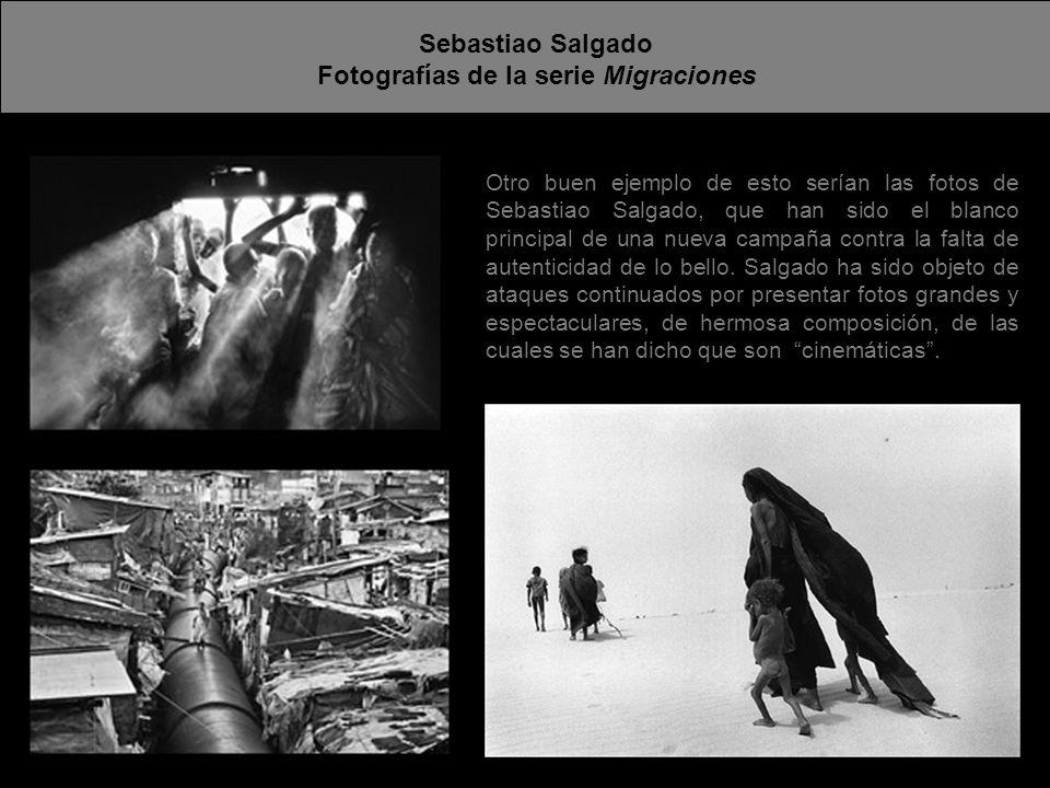 Fotografías de la serie Migraciones