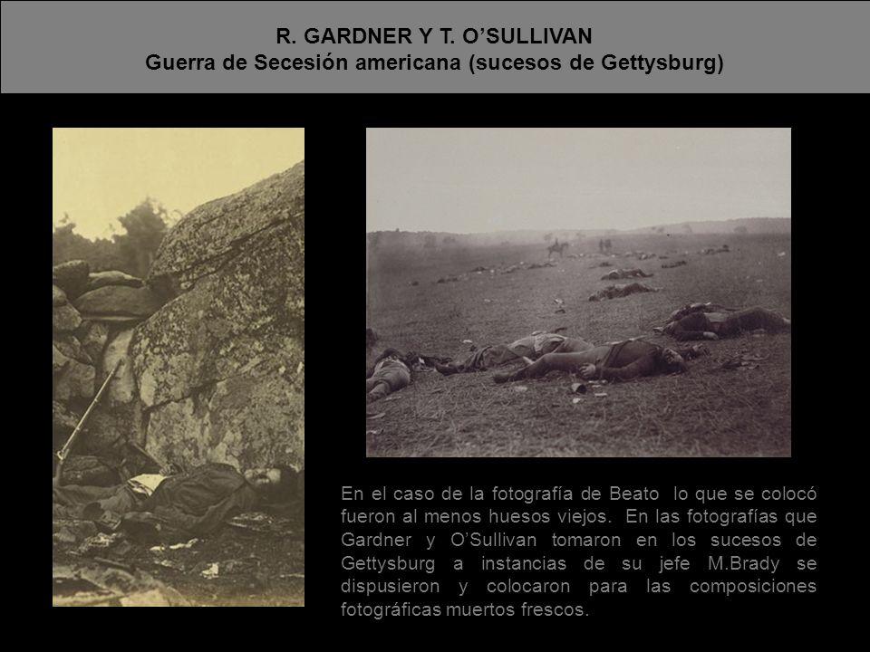 R. GARDNER Y T. O'SULLIVAN