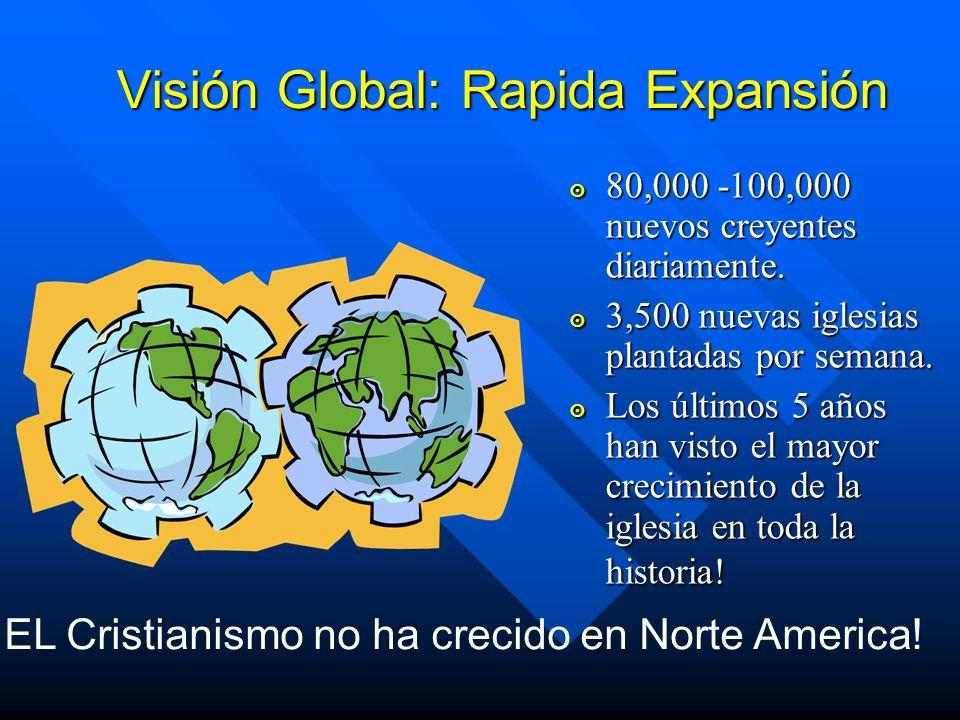 Visión Global: Rapida Expansión