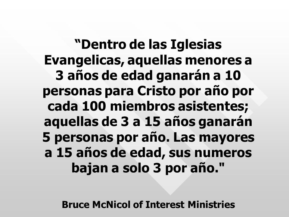 Bruce McNicol of Interest Ministries