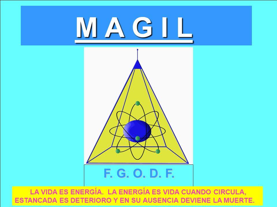 M A G I L F. G. O. D. F. LA VIDA ES ENERGÍA.