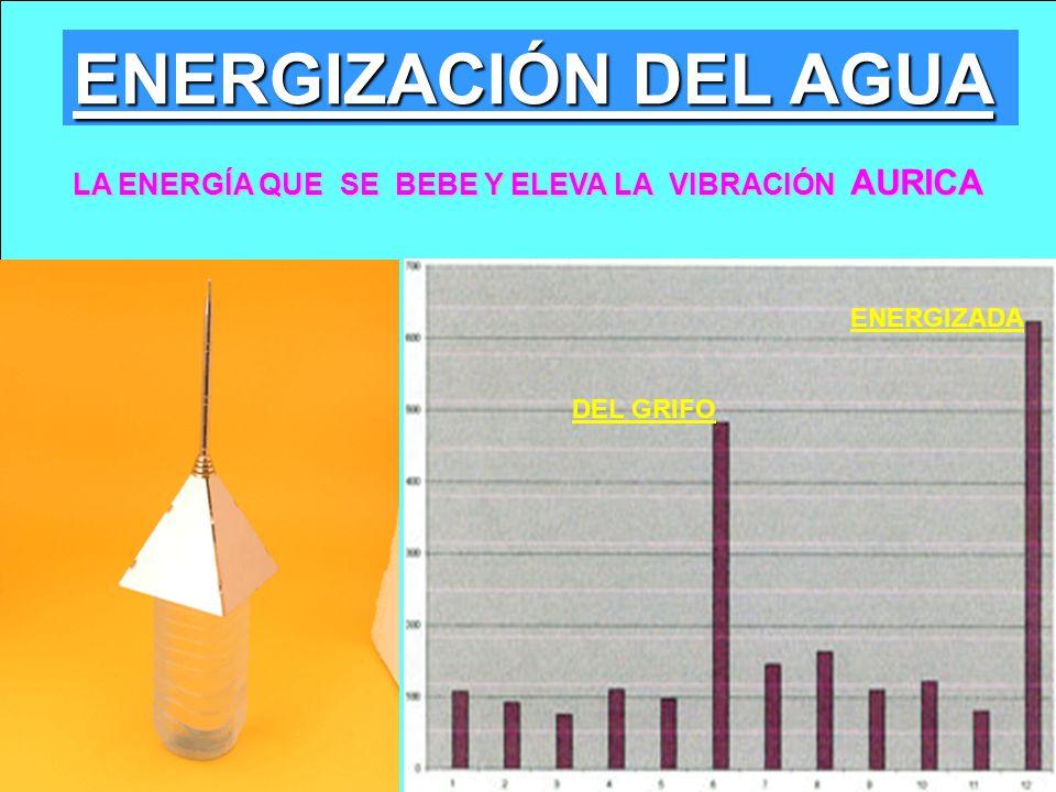 ENERGIZACIÓN DEL AGUA LA ENERGÍA QUE SE BEBE Y ELEVA LA VIBRACIÓN AURICA ENERGIZADA DEL GRIFO