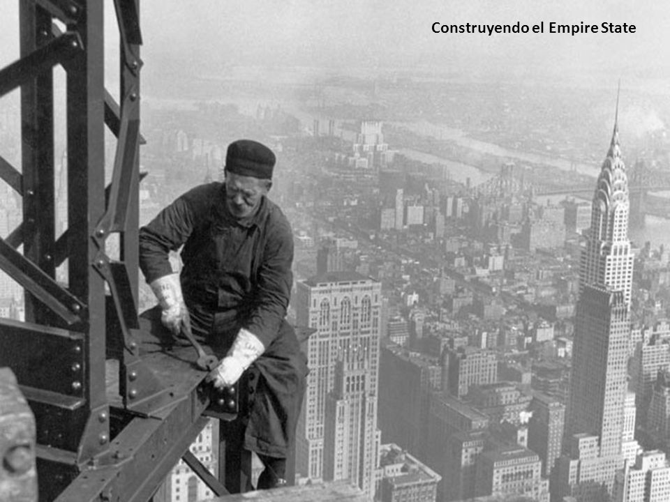 Construyendo el Empire State