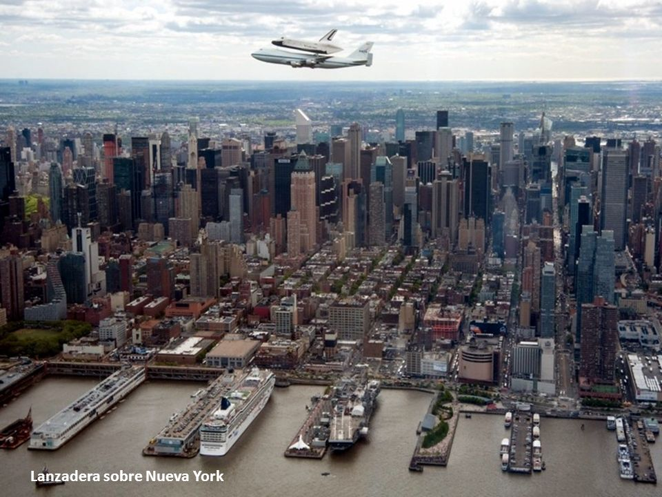 Lanzadera sobre Nueva York