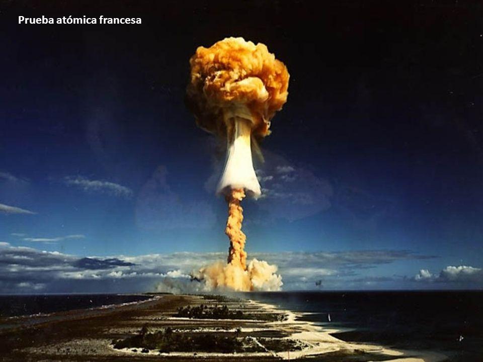 Prueba atómica francesa