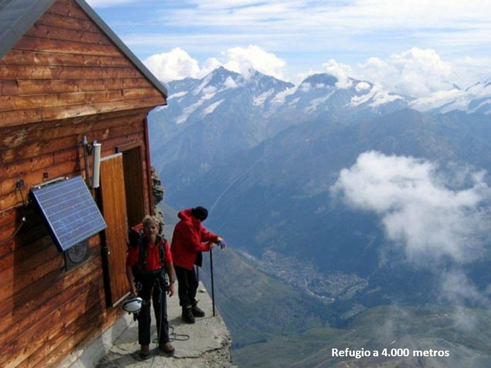 Refugio a 4.000 metros