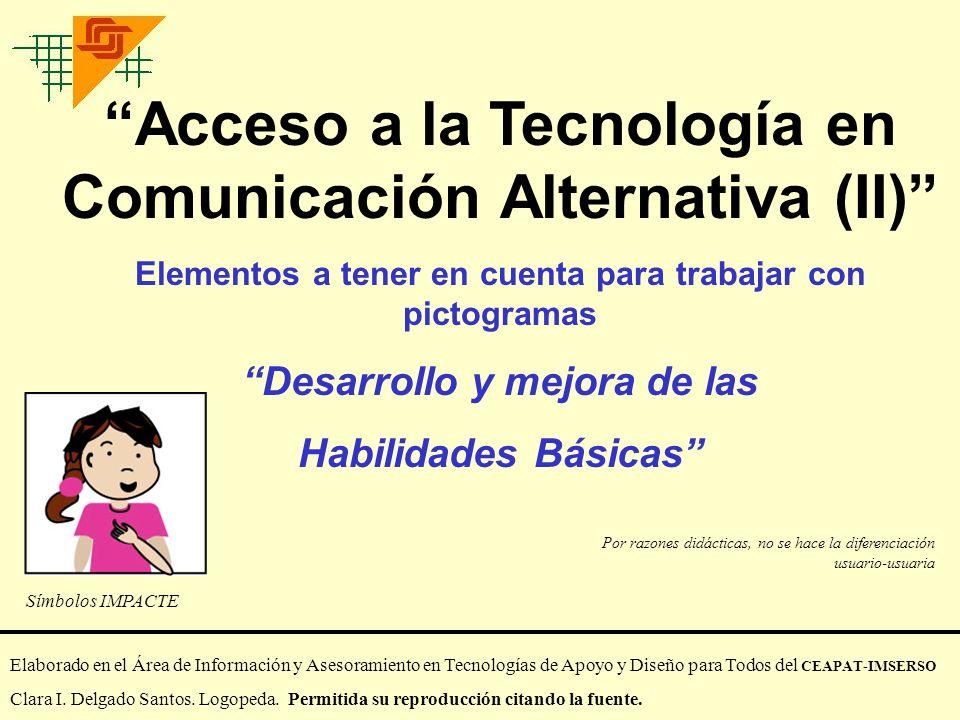 Acceso a la Tecnología en Comunicación Alternativa (II)