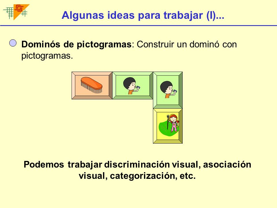 Algunas ideas para trabajar (I)...
