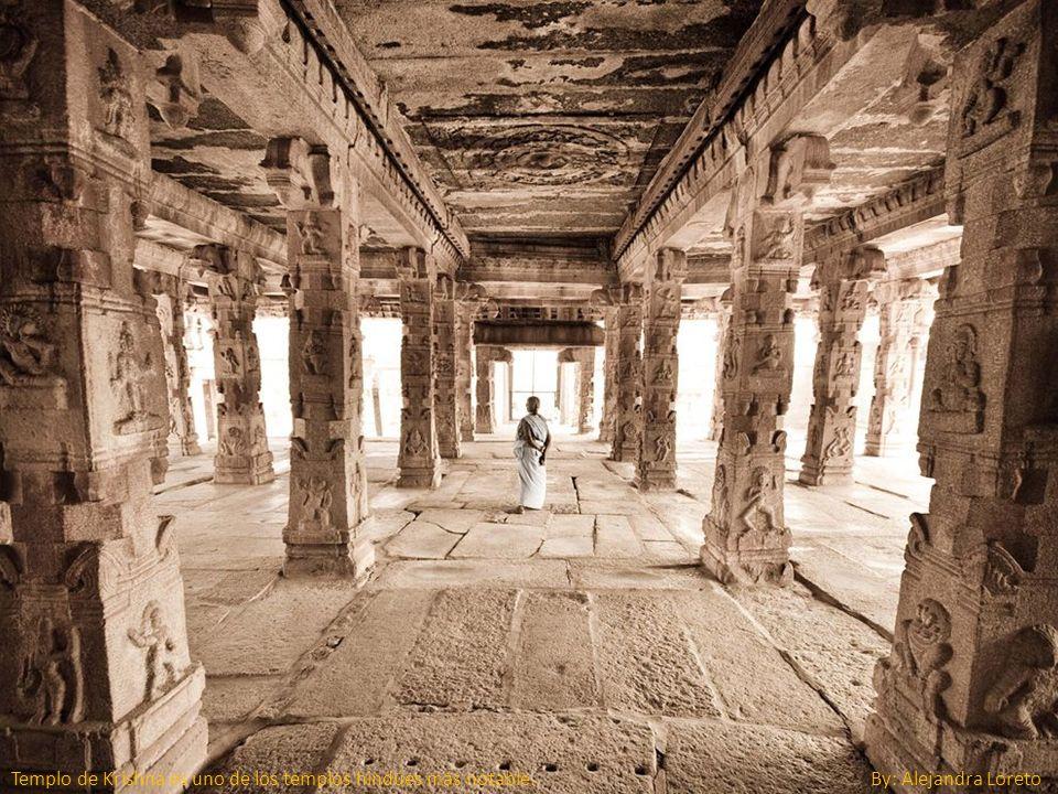 Templo de Krishna es uno de los templos hindúes más notable