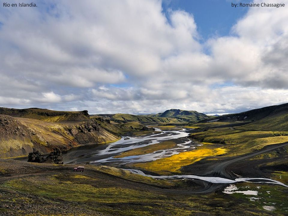 Rio en Islandia. by: Romaine Chassagne