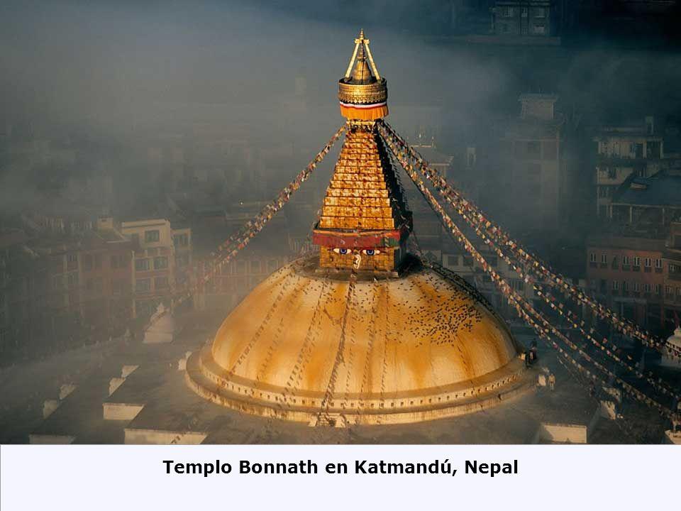 Templo Bonnath en Katmandú, Nepal