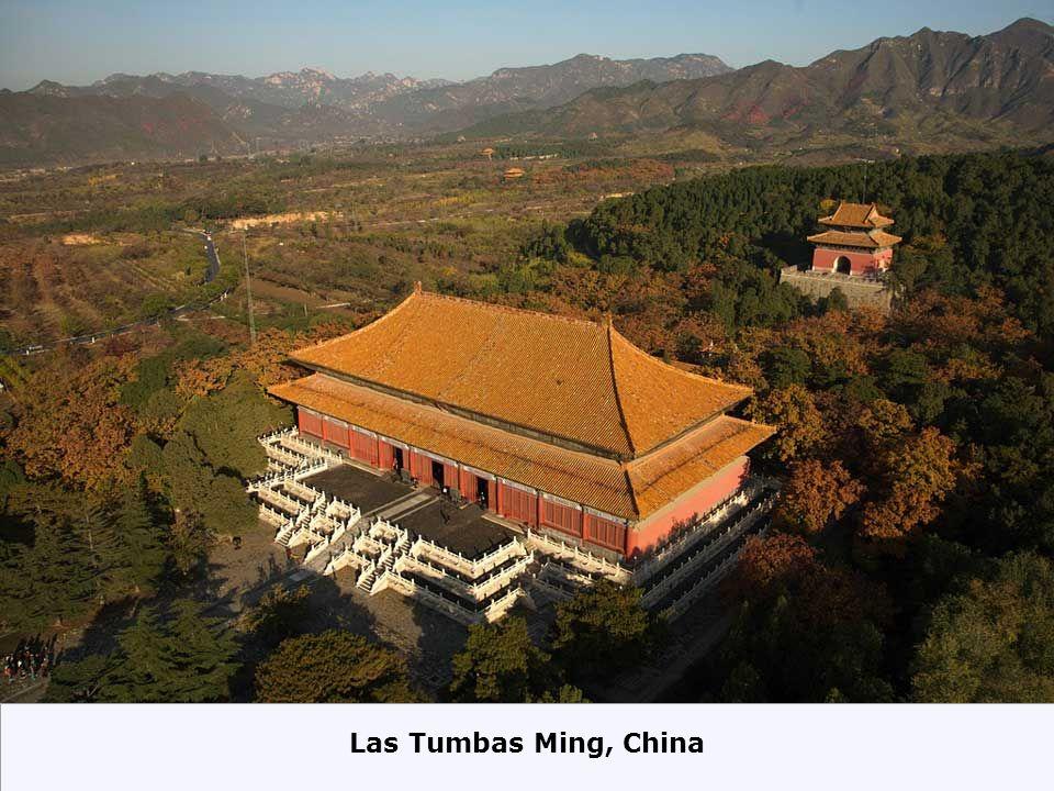 Las Tumbas Ming, China