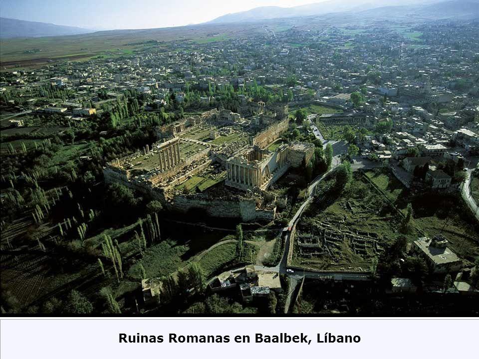 Ruinas Romanas en Baalbek, Líbano