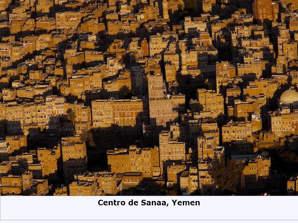 Centro de Sanaa, Yemen