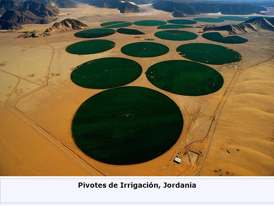 Pivotes de Irrigación, Jordania
