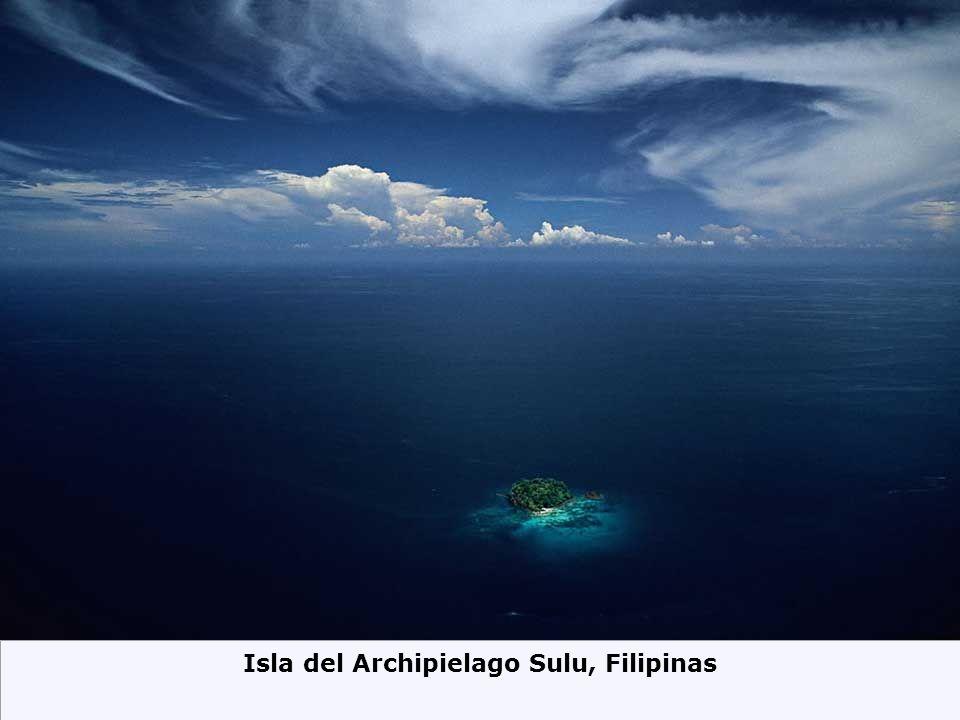 Isla del Archipielago Sulu, Filipinas