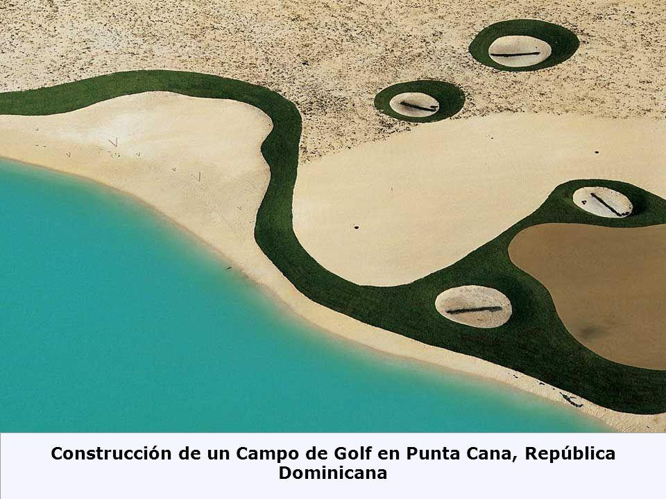 Construcción de un Campo de Golf en Punta Cana, República Dominicana