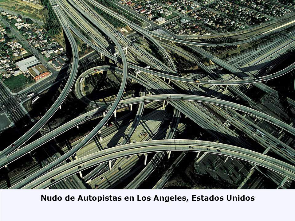 Nudo de Autopistas en Los Angeles, Estados Unidos