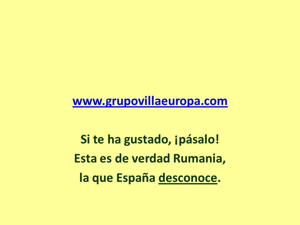www. grupovillaeuropa. com Si te ha gustado, ¡pásalo