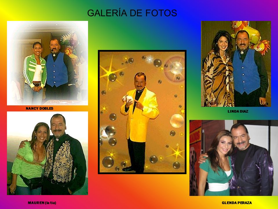 GALERÍA DE FOTOS NANCY DOBLES LINDA DIAZ MAUREN (la tia) GLENDA PERAZA