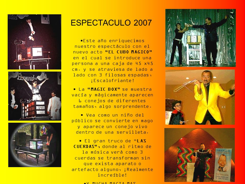 ESPECTACULO 2007