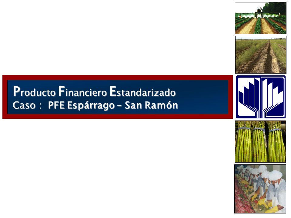 Producto Financiero Estandarizado Caso : PFE Espárrago – San Ramón