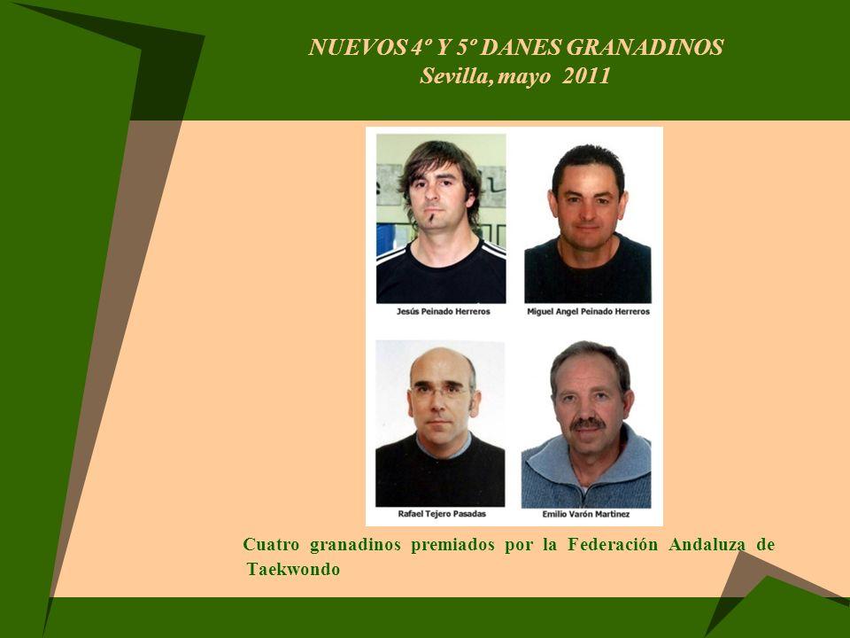 NUEVOS 4º Y 5º DANES GRANADINOS Sevilla, mayo 2011