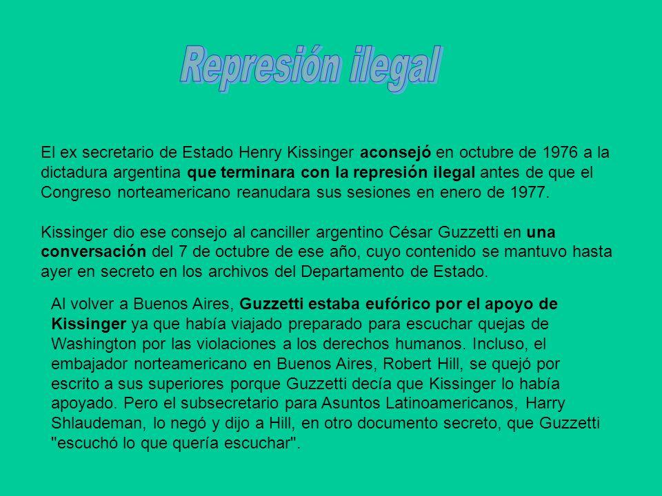 Represión ilegal