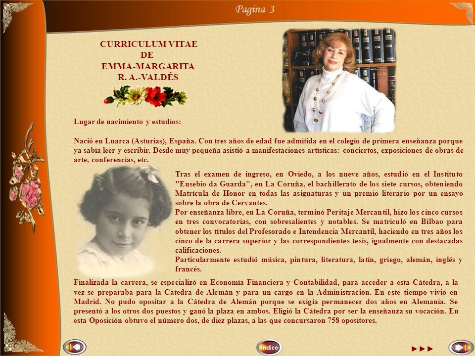 3 CURRICULUM VITAE DE EMMA-MARGARITA R. A.-VALDÉS