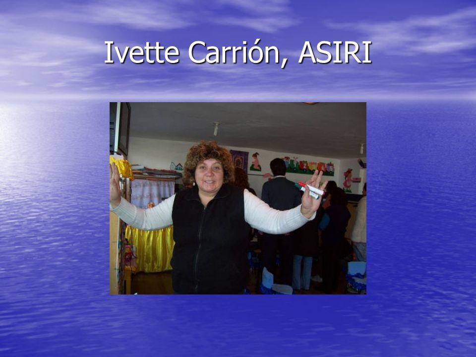 Ivette Carrión, ASIRI