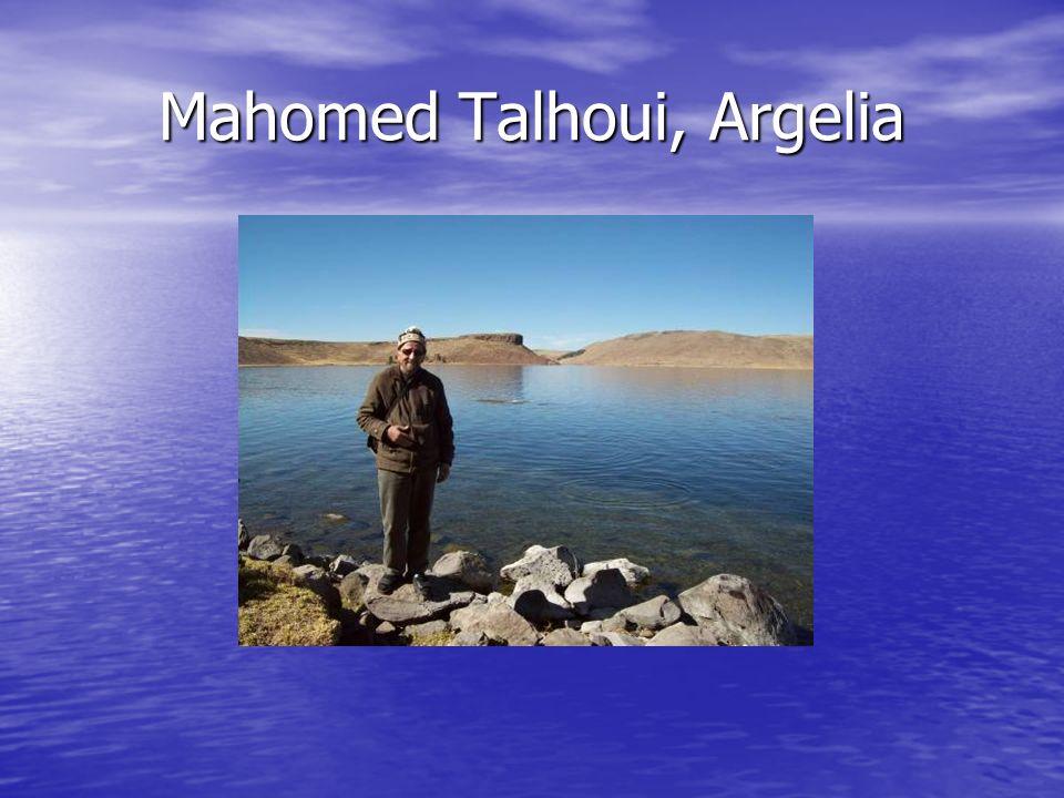 Mahomed Talhoui, Argelia