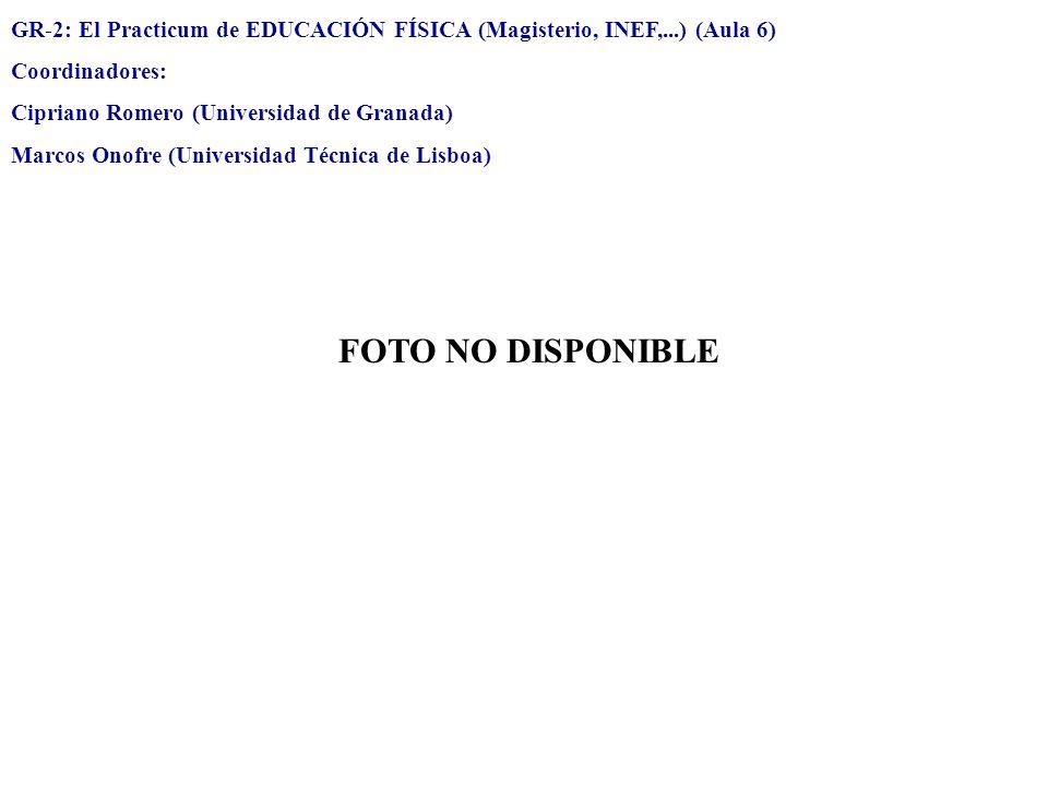 GR-2: El Practicum de EDUCACIÓN FÍSICA (Magisterio, INEF,...) (Aula 6)