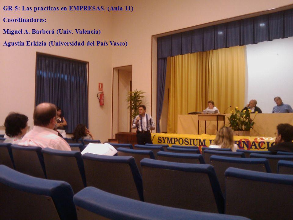 GR-5: Las prácticas en EMPRESAS. (Aula 11)