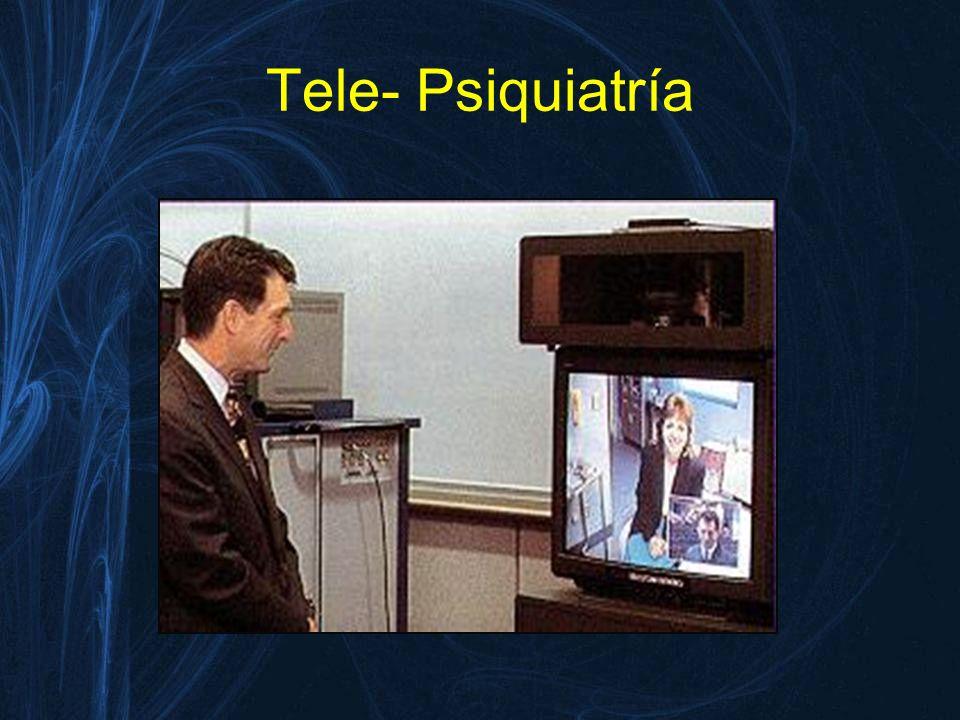 Tele- Psiquiatría