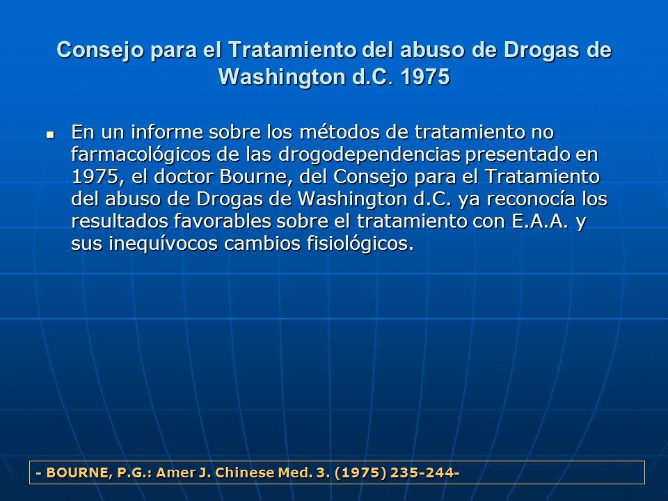 Consejo para el Tratamiento del abuso de Drogas de Washington d. C