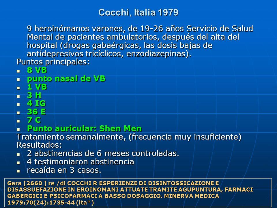Cocchi, Italia 1979