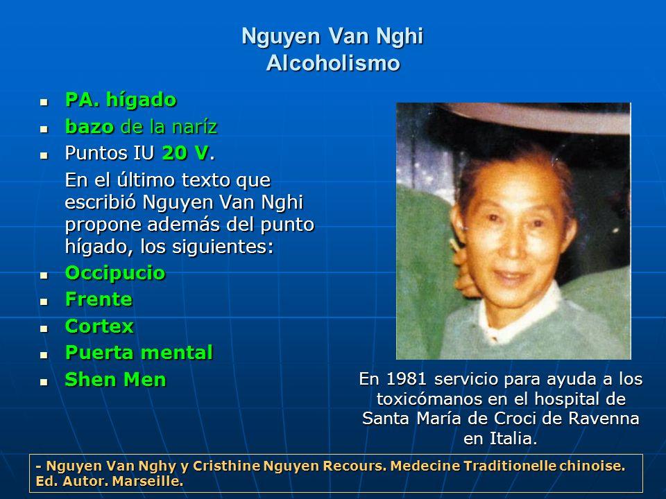 Nguyen Van Nghi Alcoholismo