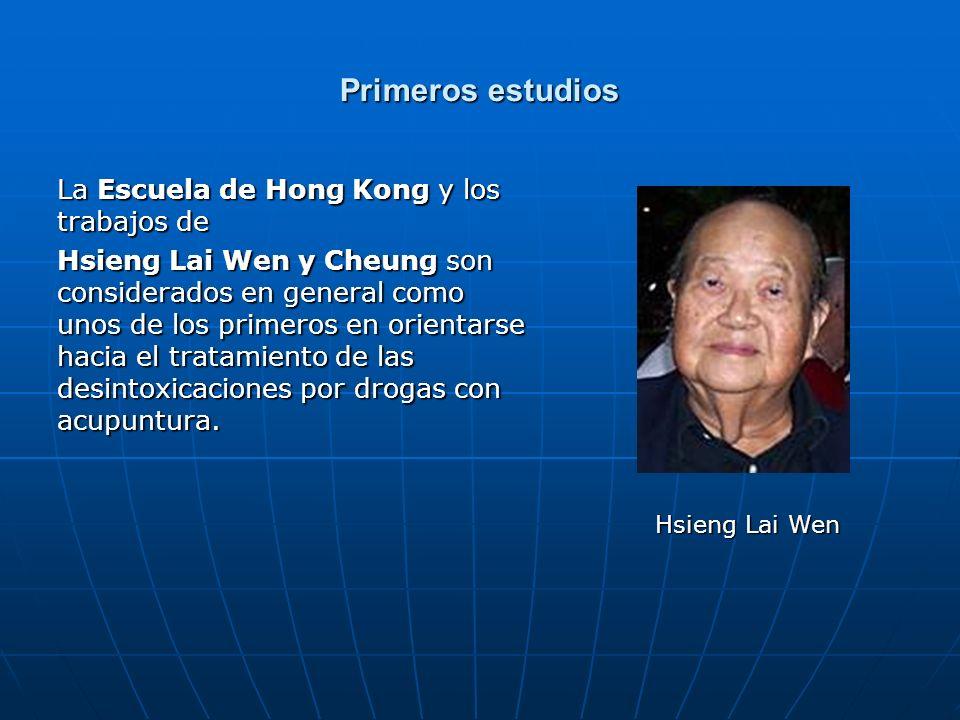 Primeros estudios La Escuela de Hong Kong y los trabajos de