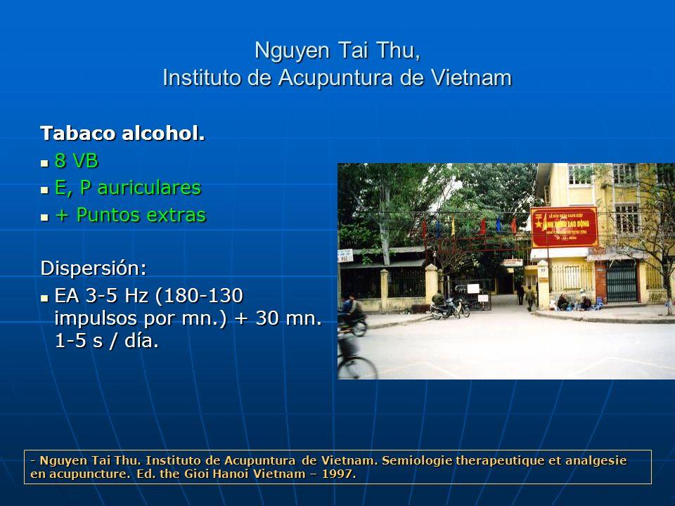 Nguyen Tai Thu, Instituto de Acupuntura de Vietnam