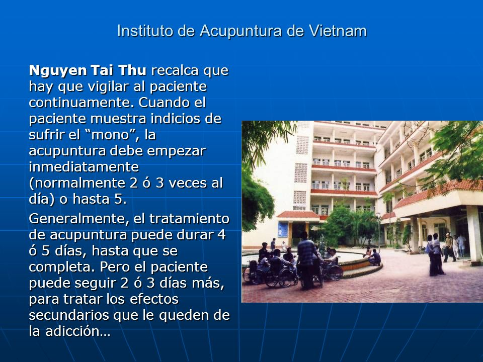 Instituto de Acupuntura de Vietnam